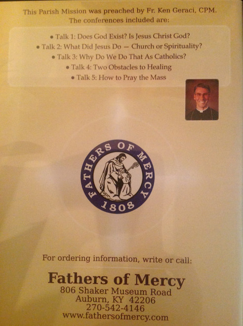 Why Be Catholic?  Renewal of the Covenant by Father Ken Geraci CD