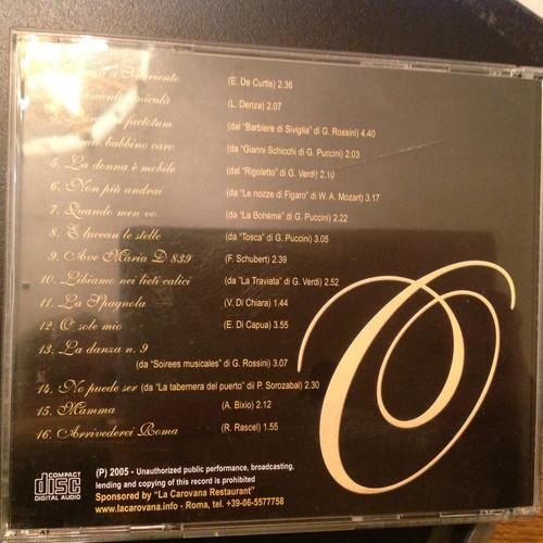 Italian Open CD