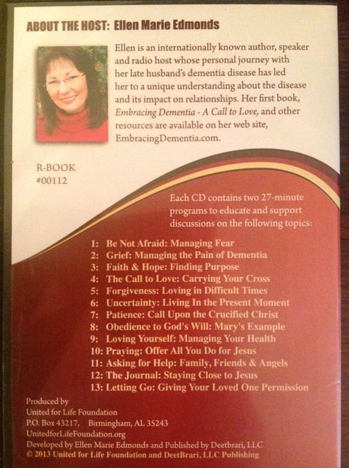 Alzheimer's - A Faith Perspective CD