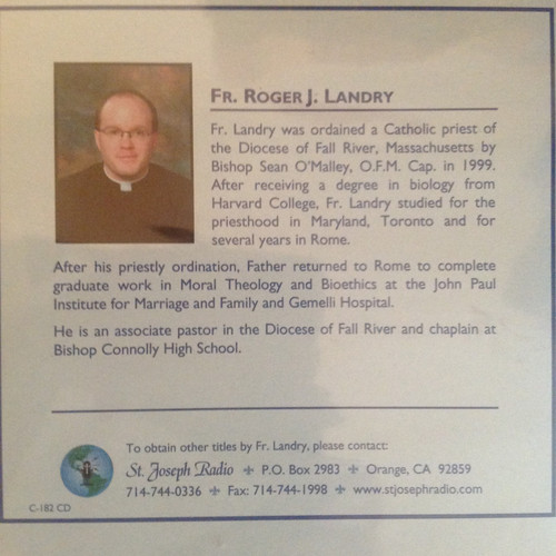 Renewal at Mary's School by Fr. Roger J. Landry CD
