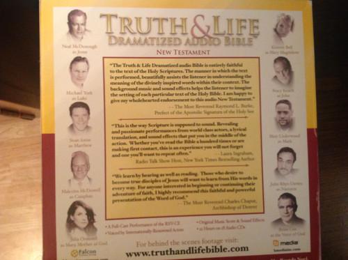 Truth & Life Dramatized Audio Bible CD