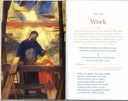 Nine Days with Saint Joseph Novena Booklet