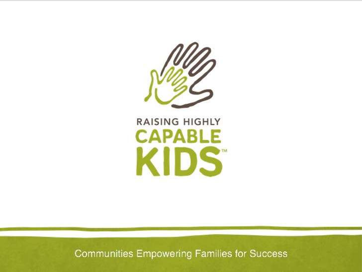 Raising Highly Capable Kids - Session 1 PowerPoint