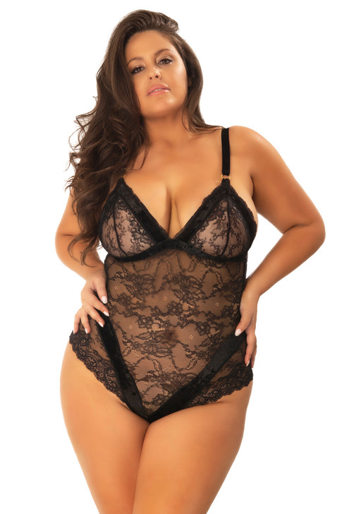Plus Size Aimee Teddy