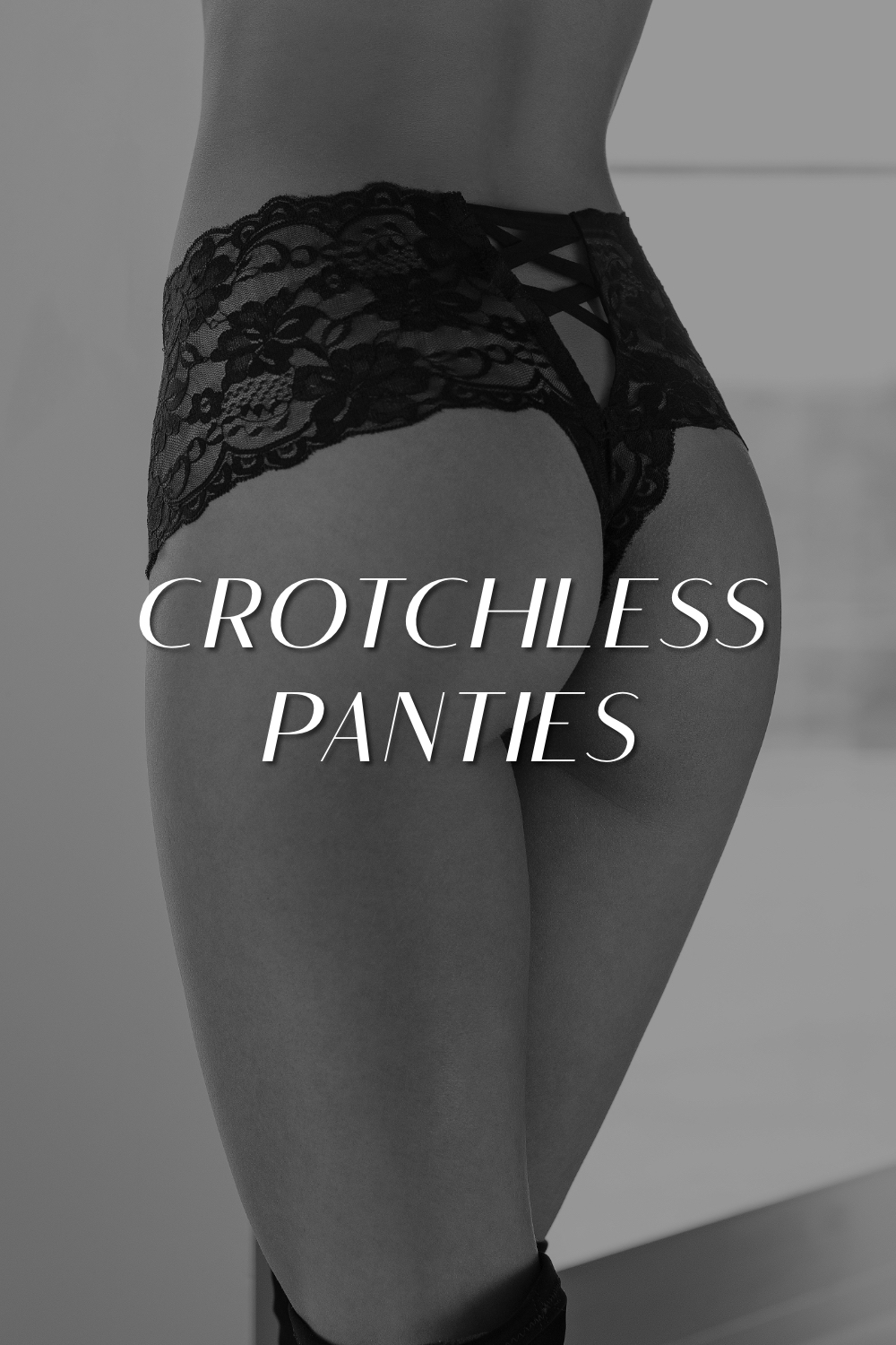 Crotchless Panties Lingerie
