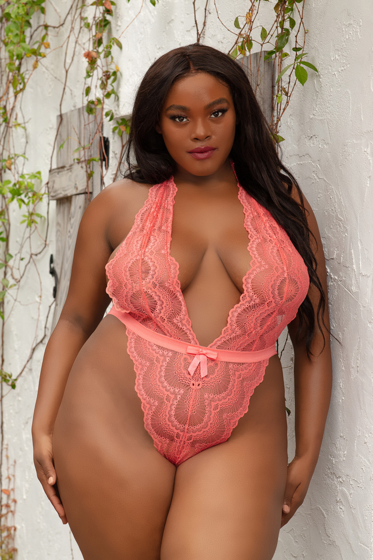 Plus Size Teddy and Bodysuits Sexy Lingerie