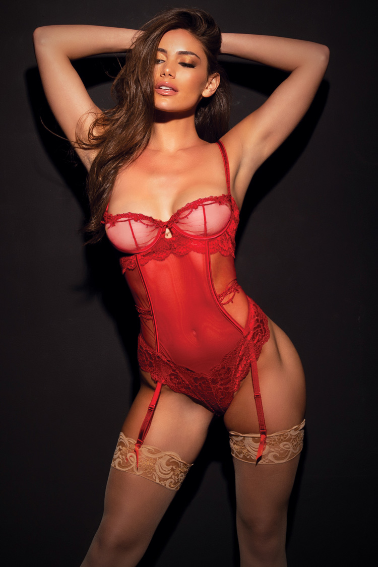 Red Valentines Sexy Lingerie Collection