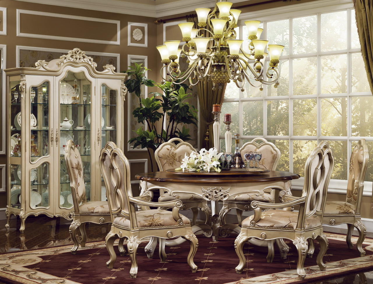 Palisades Egyptian Pearl Dining Room