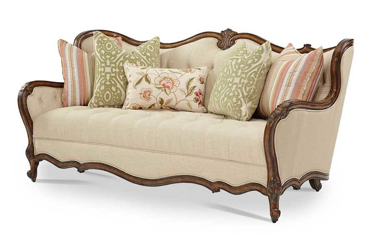Caravelle Warm Walnut Fabric