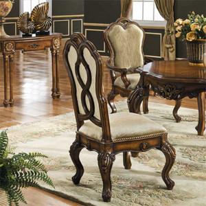 Palisades Antique Walnut Side Chair