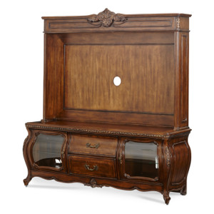 Caravelle Warm Walnut Entertainment Unit