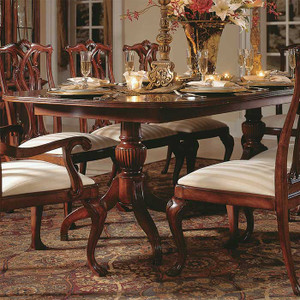 Cherry Lane Double Pedestal Table