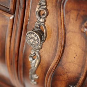 Caravelle Warm Walnut Dresser (Mirror extra)