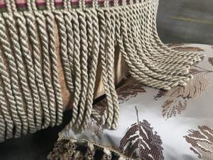 Fringe/ Pillow Close-up