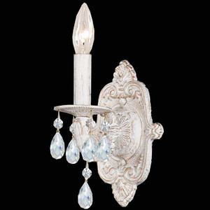 White Crystal Sconce