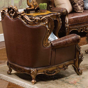 Chair features a convenient removable back for easier access into your home!