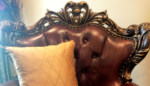 Front of Chair Detail *Pillow shown is not included