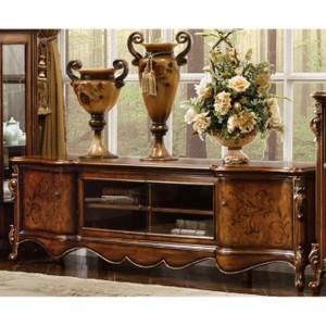 TV Cabinet (center - Antique Cognac)