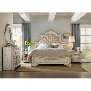 View of the Santina Bed in the Bedroom.