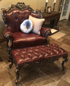 Leather option, shown with Chair