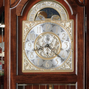 Majestic II Clock Face Detail