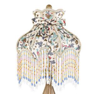 Victorian Floral Detail Lamp