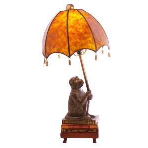 Intellectual Monkey Lamp