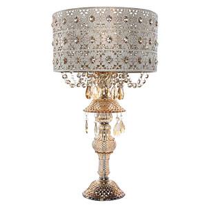 Jeweled Blossom Lamp