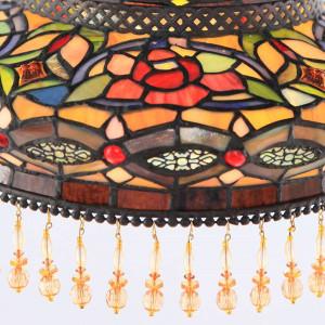 Parisian Floor Lamp Shade Close-up