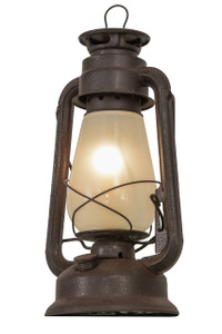 View of the Miner Lantern Table Lamp.