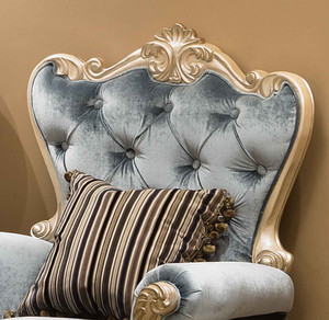 View of the Palais d'Opale Accent Chair.