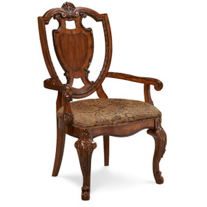 View of the Olde London Shield Back Arm Chair.