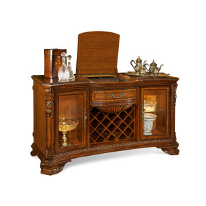 View of the Olde London Wine and Cheese Sideboard.