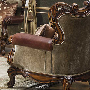 Celeste Antique Cognac Loveseat