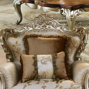 Celeste Antique Silver Chair