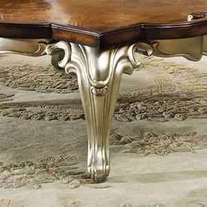 Celeste Antique Silver Coffee Table