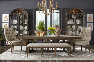 View of the Miabella Dining Table.