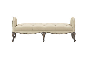 View of the Miabella Bed Bench