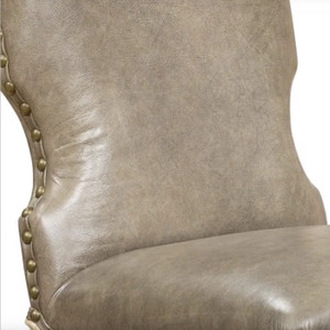 St. Augustine Amande Leather Chair