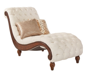 View of the Birchwood Blanc Chaise