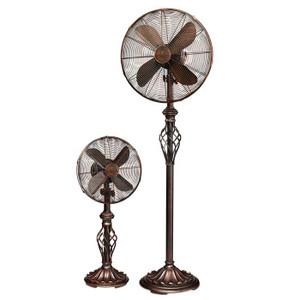 Vintage Swirl Table Fan