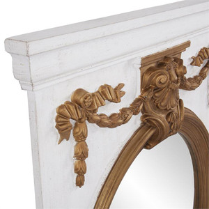View of the Heritage Mantle Mirror