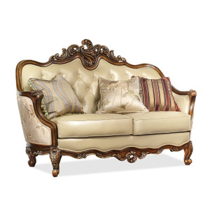 View of the Marquetry Loveseat