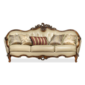 View of the Marquetry Sofa