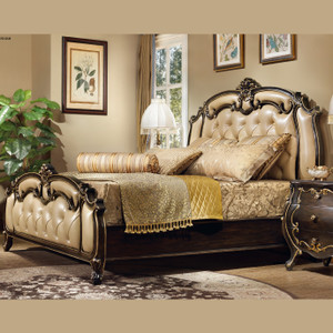 View of the Mandolin Pelle Bed