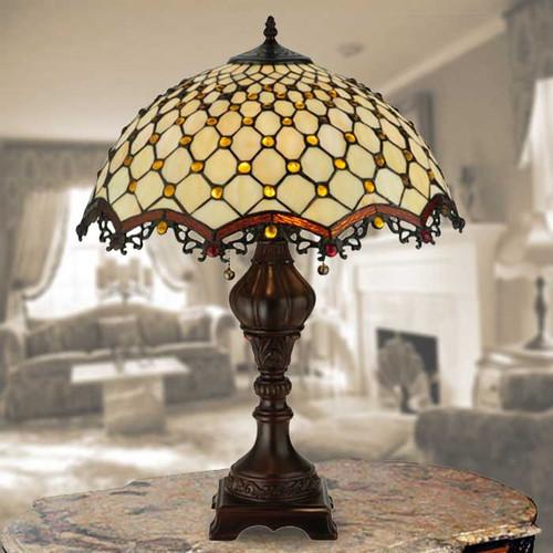 Diamond & Jewel Table Lamp
