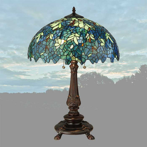 View of the Night Garden Table Lamp.
