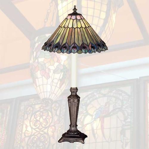 Glowing Jewels Buffet Lamp