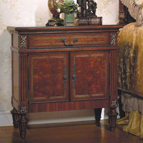Louis 16th 2-Door Nightstand