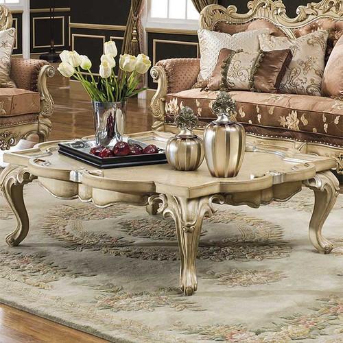 Celeste Antique White Coffee Table